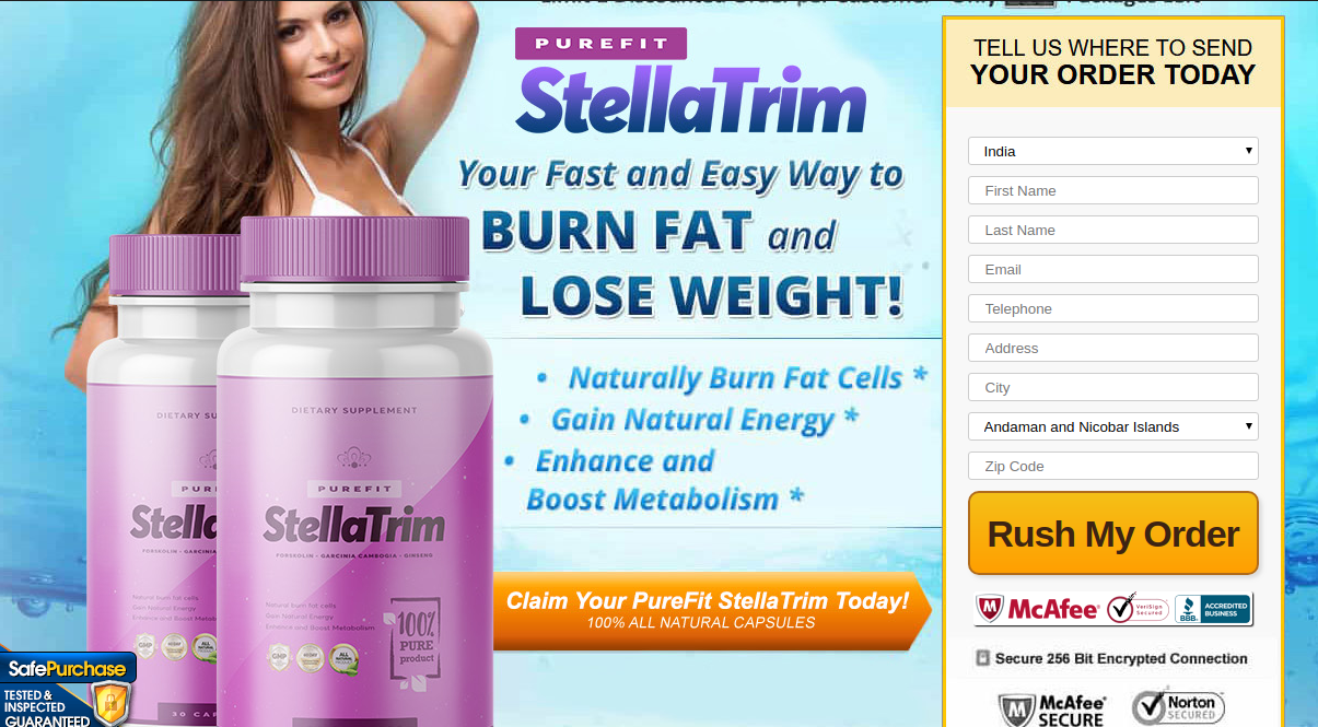 Purefit Stella Trim Pills