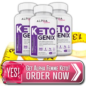 Alpha Femme Keto Genix Pills
