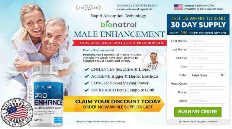 Bionatrol Pro Enhance – Best Ways to Improve Sexual Performance| BUY