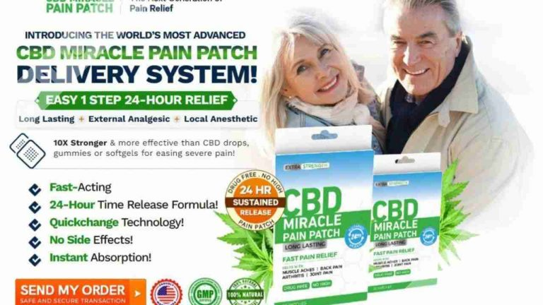 CBD Miracle Pain Patch – Safe and Effective Solution for pain Relief! Review