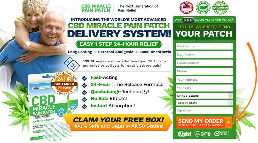 CBD Miracle Pain Patch Wheret to buy