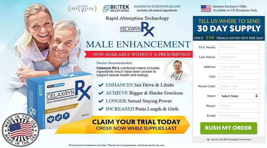 Celaxryn RX male enhancement
