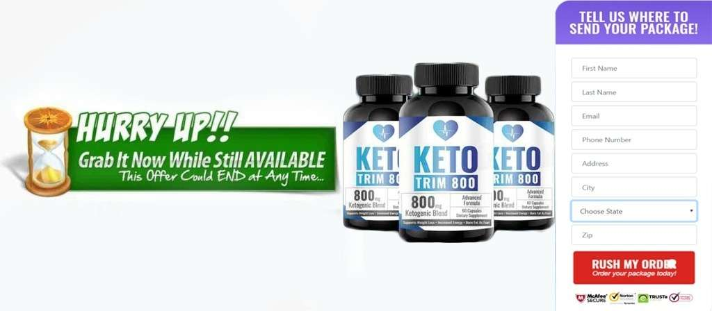 Keto Trim 800 Where to buy