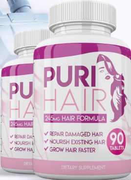 Puri Hair Bottle