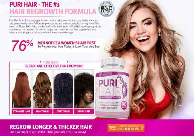 Puri Hair Growth Formula