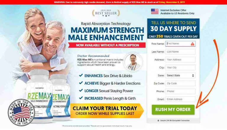 RzeMax Male Enhancement – For the Best Sexual Performance| Try it Now