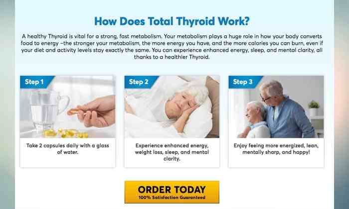 Total Thyroid How it work
