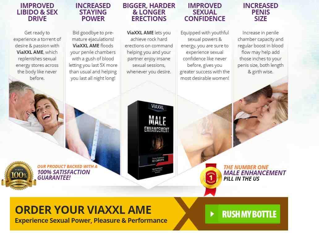 Viaxxl Male Enhancement Benefits