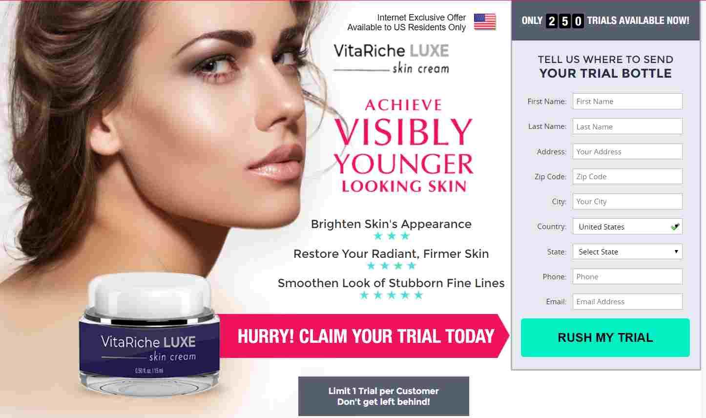 VitaRiche LUXE Where to buy