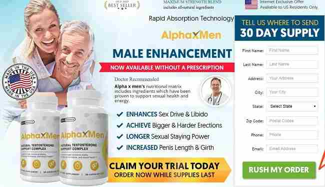 Alpha X Men Male Enhancement Pills