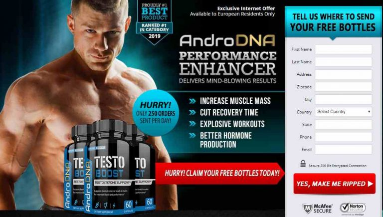 AndroDNA Muscle – Best Supplements For Faster Muscle Gain & Stamina
