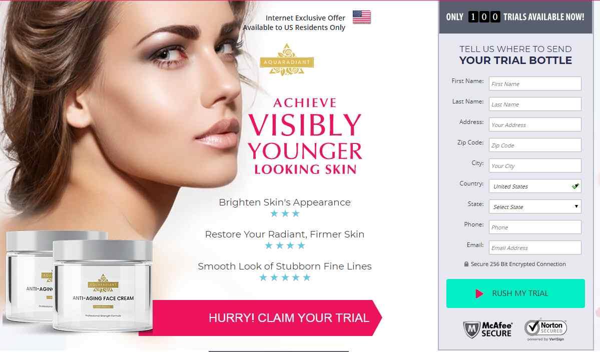 Aqua Radiant Cream where to buy