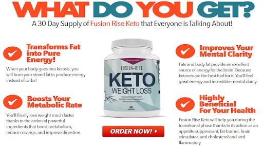 Fusion Rise Keto Benefits