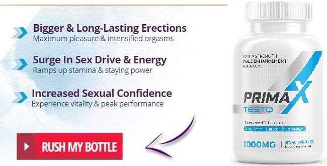 PrimaX Testo benefits