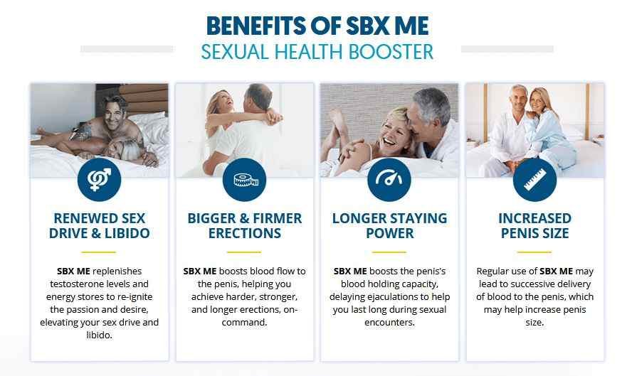 SBX Male Enhancement Benefits