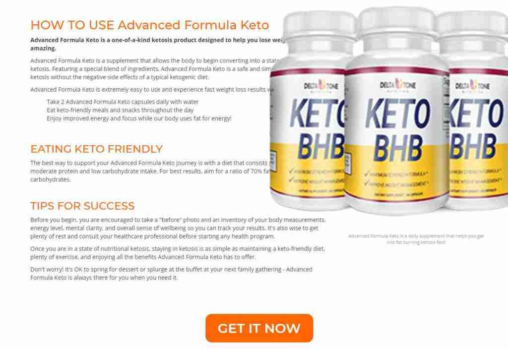 Delta Tone Keto how to use