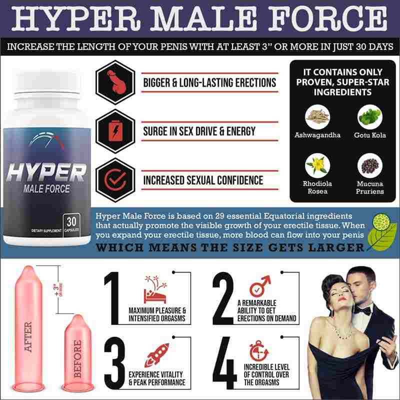 Hyper Male Force Benefits
