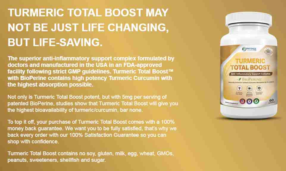Turmeric Total Boost reviews