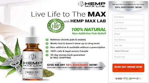 Hemp Max Lab buy in Canada
