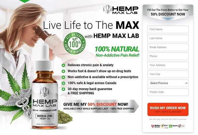 Hemp Max Lab buy now