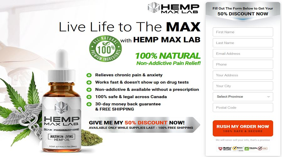 Hemp Max Lab (Canada) - Is it Worth to Buy? Read Unbiased Review