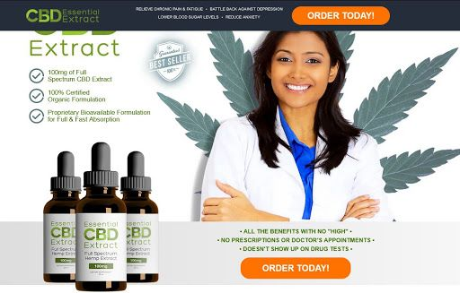 Essential CBD Extract Hemp Oil
