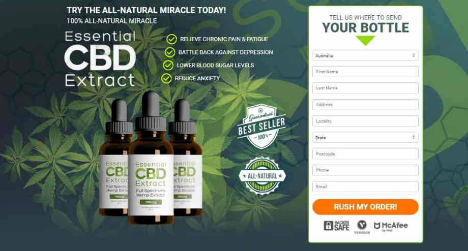 Essential CBD Extract Order now
