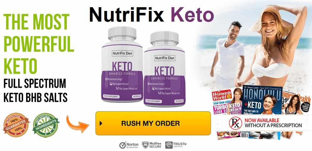 Nutrifix Keto order now