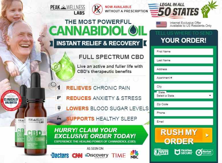 peak wellness cbd order now