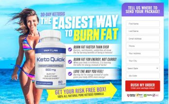 keto quick bottle with girl