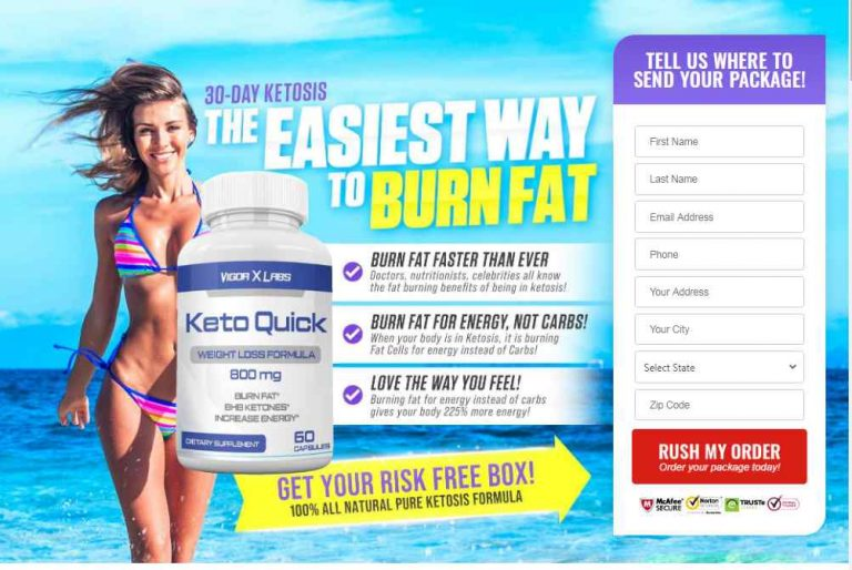 Keto Quick – Price, Benefits, User Review, Ingredients and Buy?