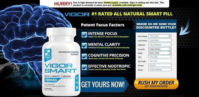 Vigor Smart Brain Pill