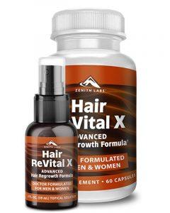 Hair Revital X – 100% Guaranteed To Battle Against Hair Loss! Review
