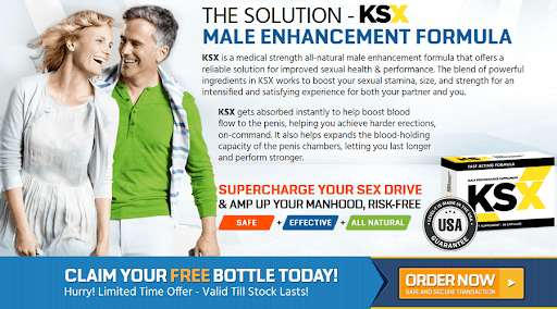 KSX Male Enhancement Benefits