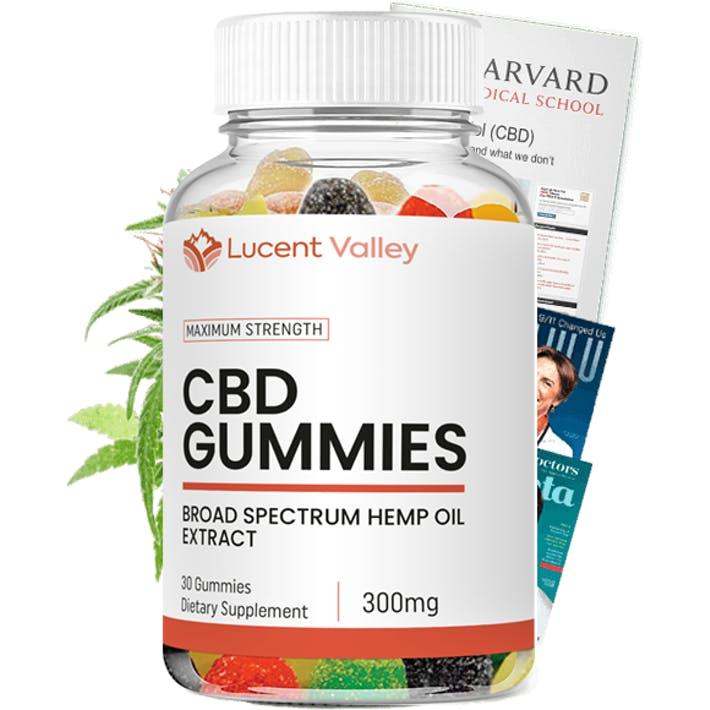 Lucent Valley CBD Gummies