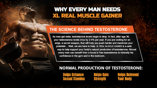 XL Real Muscle Gainer Benefits