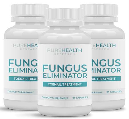 Fungus Eliminator Toenail Treatment Supplement